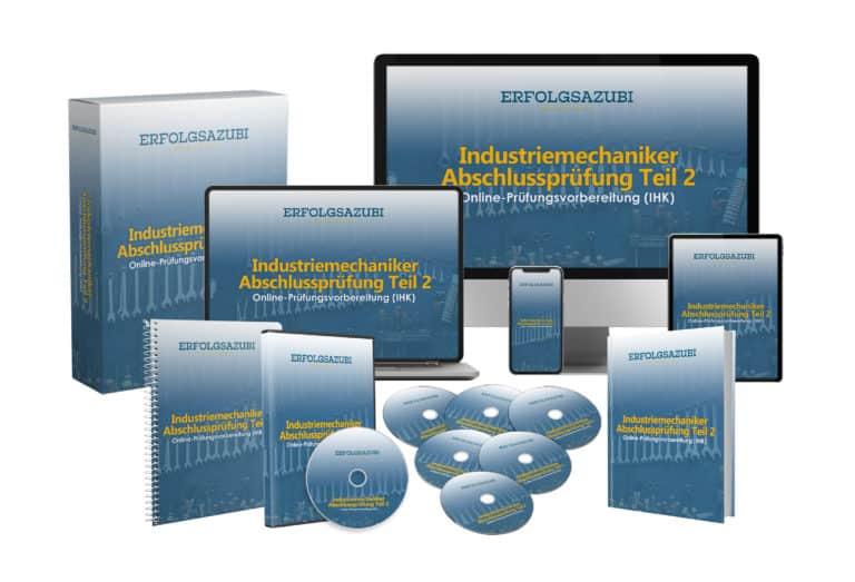 Industriemechaniker Abschlussprüfung Teil 2 Online-Prüfungsvorbereitung (IHK)