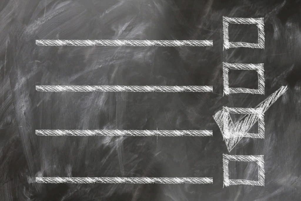Checkliste zur Abschlussprüfung und Zwischenprüfung (IHK Theorie)